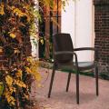 Chaises de Jardin BOHEME Grand Soleil Bar avec accoudoirs Poly-rotin - immagine