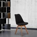 Lot De 20 Chaises Avec Coussin Tissu Design Scandinave TULIP NORDICA PLUS Pour Restaurants Et Bars - vendita