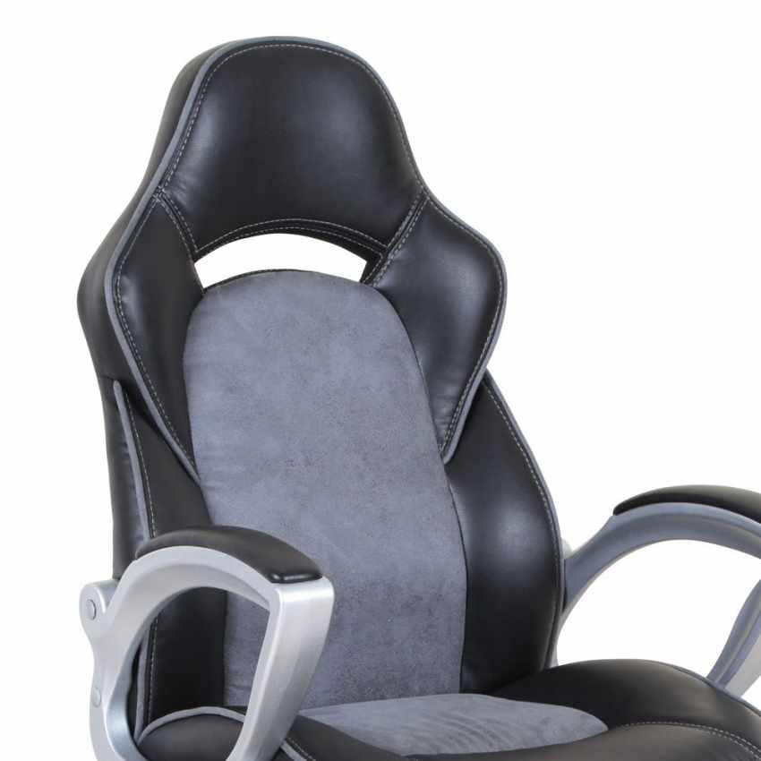 Chaise fauteuil de bureau ergonomique sportive gaming en simili cuir EVOLUTION - vendita