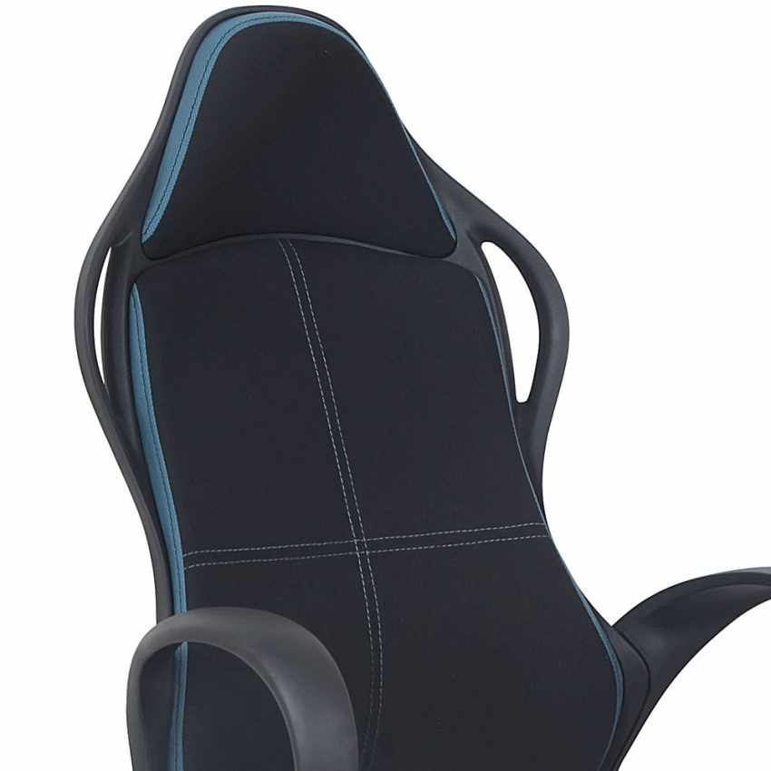 Chaise de bureau ergonomique sport fauteuil gamer  microfibres LOS ANGELES - arredamento